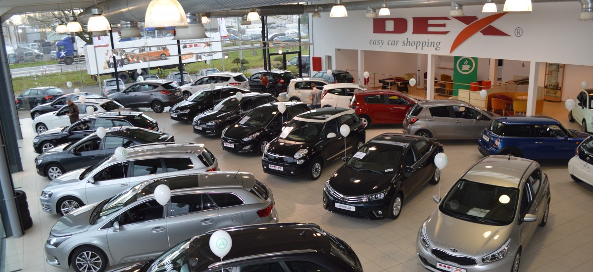 DEX Showroom te st-Niklaas